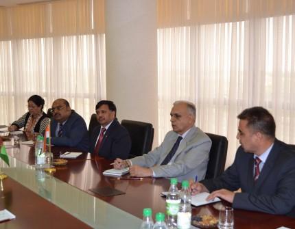 Туркменистан и Индия обсудили вопросы безопасности в регионе