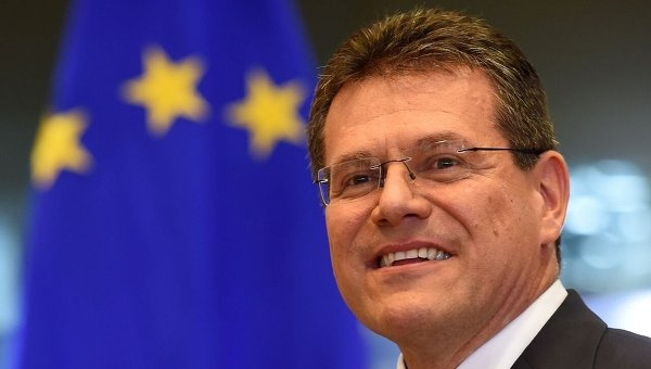 Европейский комиссар Марош Шефчович подтвердил заинтересованность ЕС в Транскаспийском газопроводе