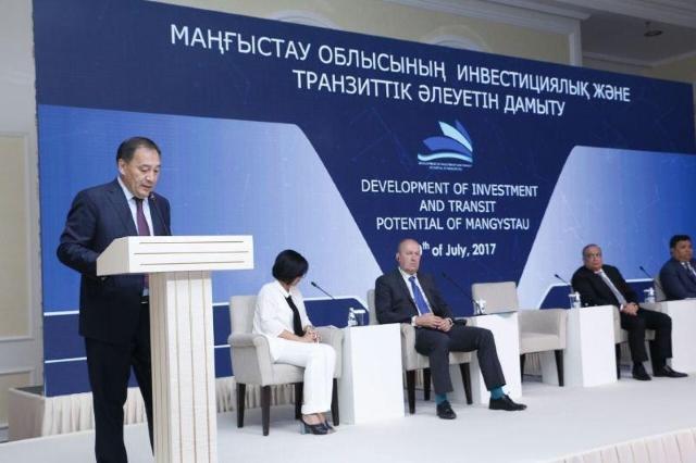В казахстанском Актау обсудили транскаспийские грузоперевозки