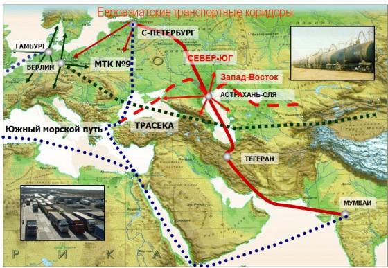 Вслед за Азербайджаном РФ и Индия окажут Ирану поддержку в рамках «Север-Юг»