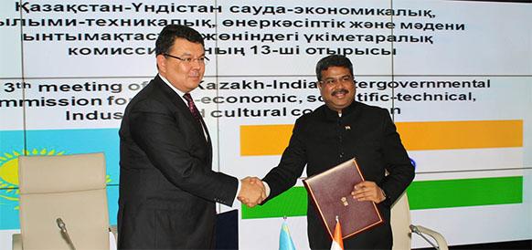 Состоялось заседание казахстанско-индийского Делового совета в Дели