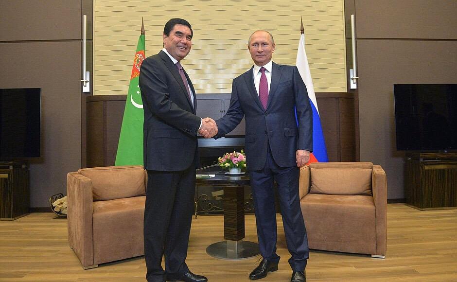 Готовится встреча Президентов России и Туркменистана