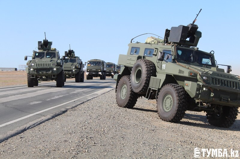 Казахстан отрабатывает вопросы локализации угроз безопасности страны в Каспийском регионе