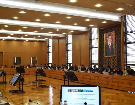 В Ашхабаде состоялась конференция по вопросам Каспийского региона