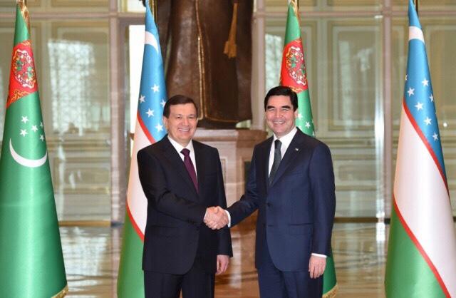 Туркмения и Узбекистан продолжают развивать сотрудничество на Каспии
