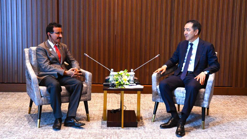 Премьер-министр Казахстана встретился с председателем правления «DP World»
