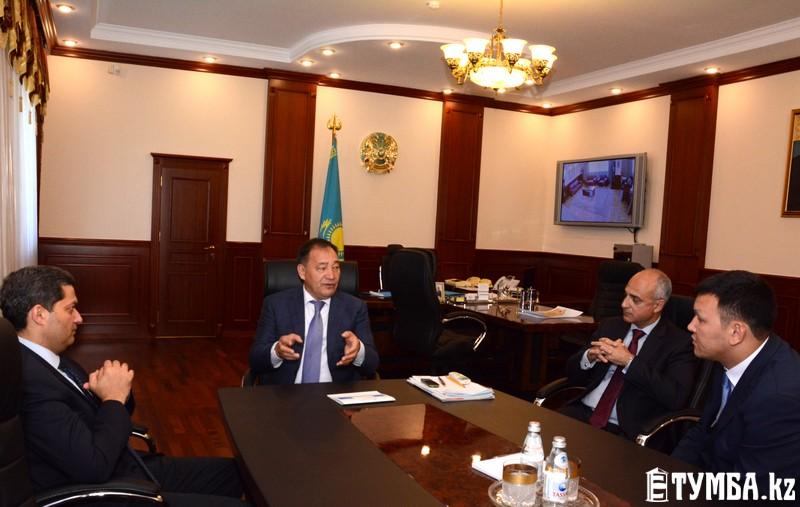СЭЗ «Морпорт Актау» и DP World готовы к реализации инвестиционных проектов