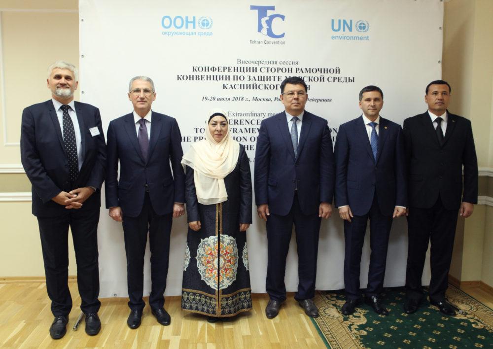В России подписан важный протокол к Тегеранской конвенции по защите морской среды Каспия