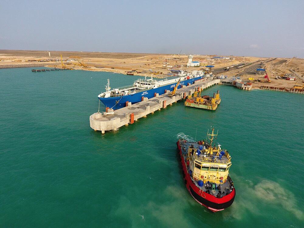 В казахстанском порту Курык создадут новый транспортно-логистический комплекс