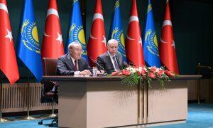 Нурсултан Назарбаев посетил Турцию с официальным визитом