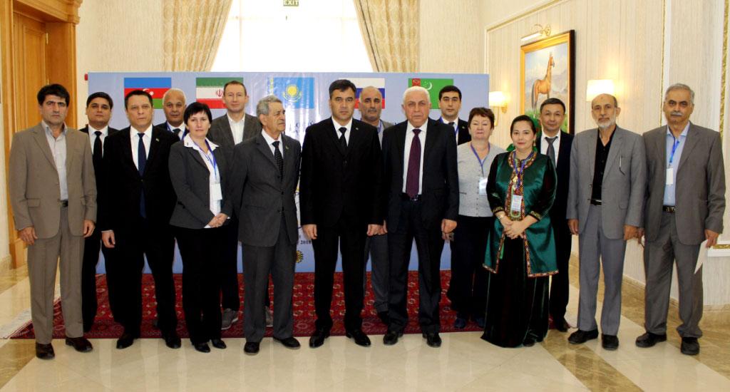 В Ашхабаде прошло заседание комитета по гидрометеорологии Каспийского моря