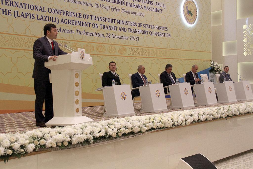 Состоялась встреча министров транспорта стран-участниц Лазуритового коридора