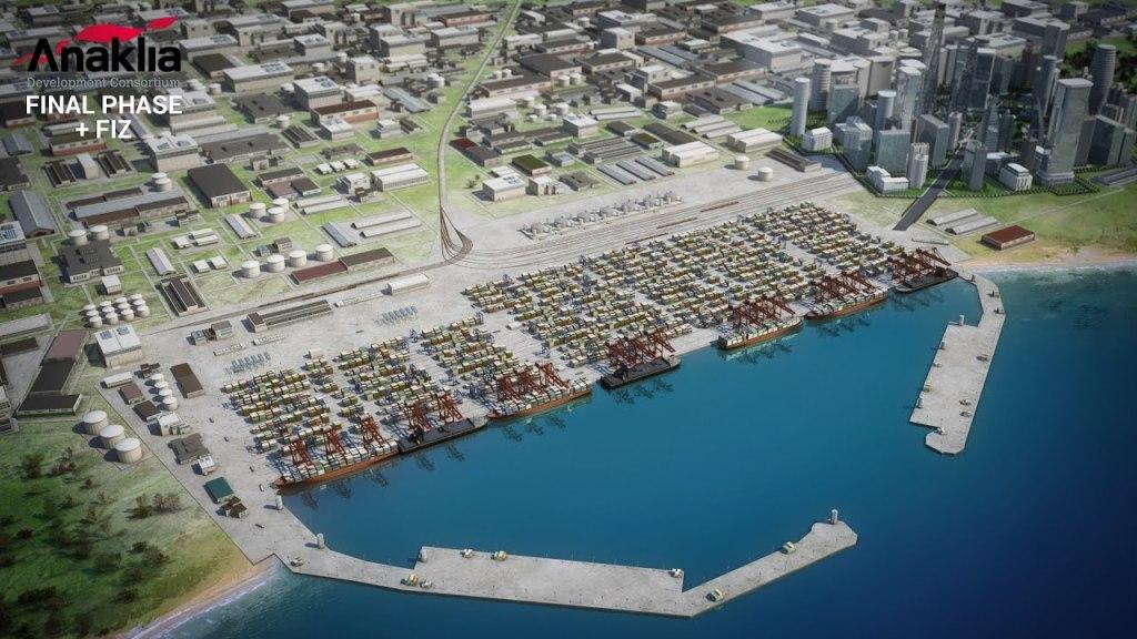 Анаклия — самый восточный порт Европы