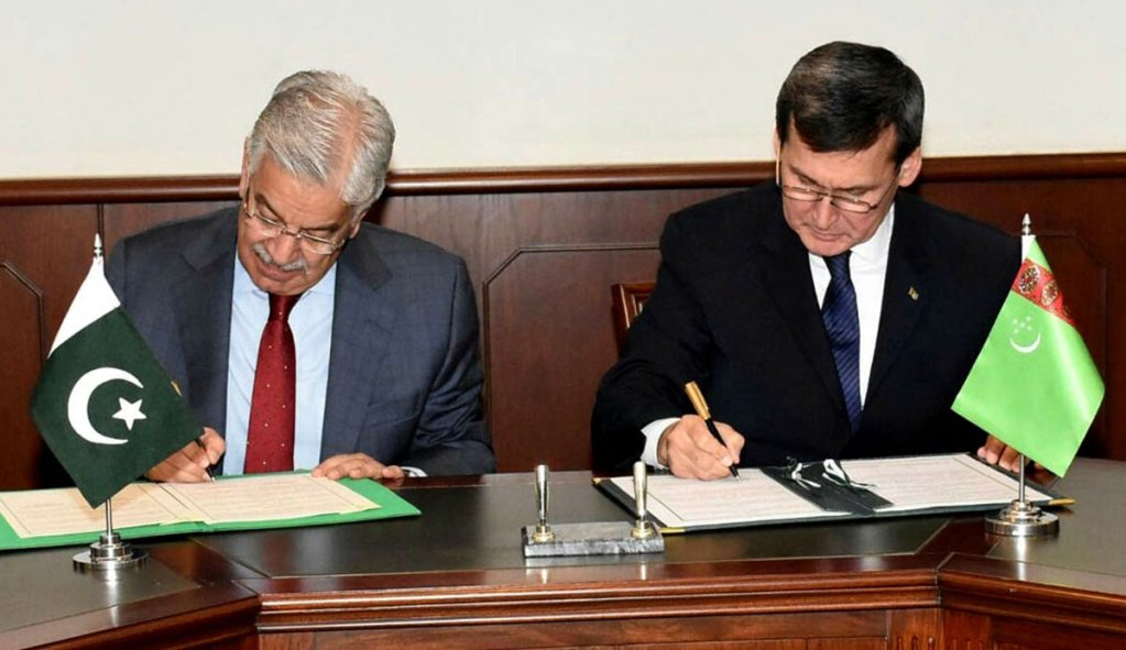 В Исламабаде прошли туркмено-пакистанские переговоры