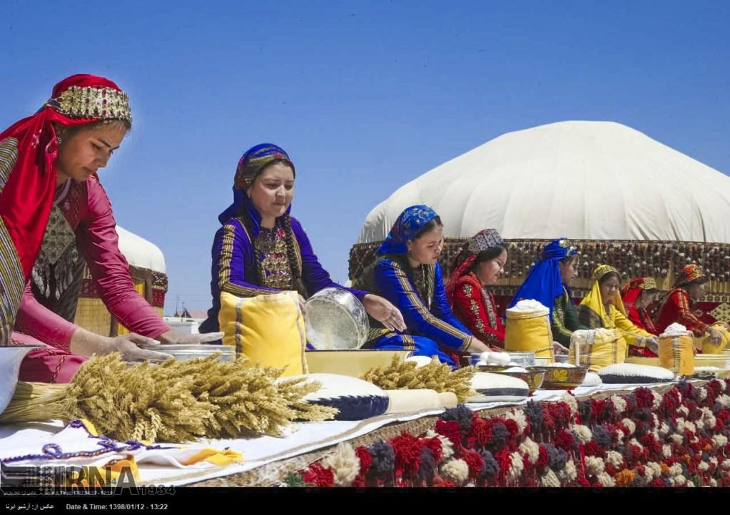 Первый совместный праздник Тегерана и Ашхабада по случаю Ноуруза