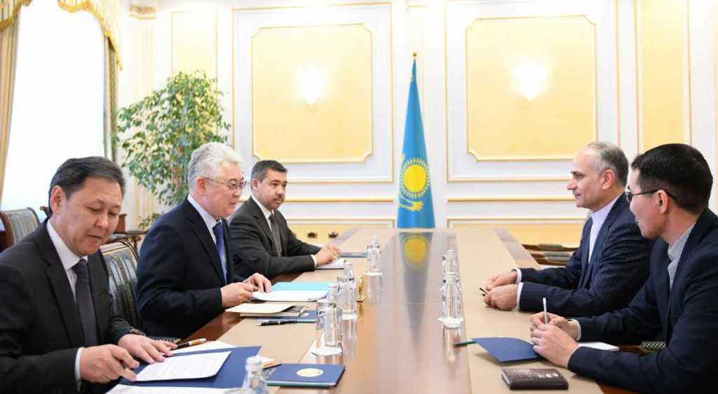 В Нур-Султане проведены казахстанско-иранские переговоры