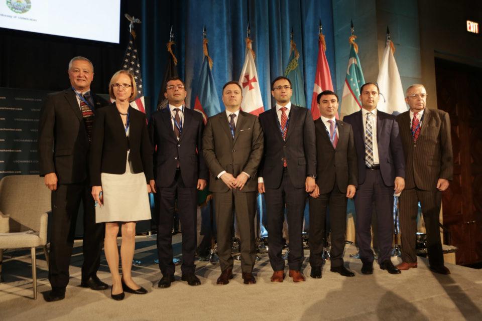В Вашингтоне прошёл Четвёртый транскаспийский форум
