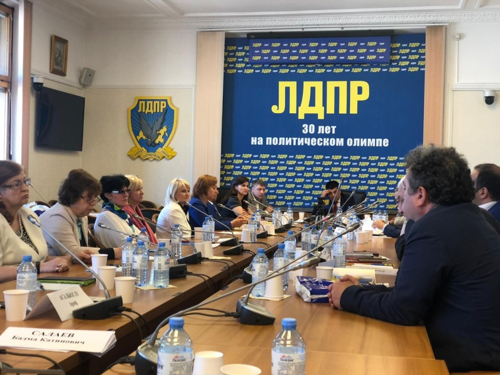 Социально-экологические проблемы Прикаспия обсудили в Государственной думе