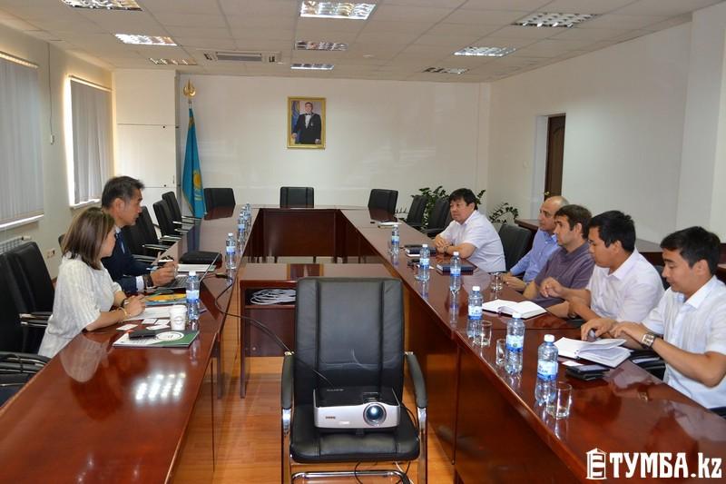 В казахстанском порту Актау рассмотрели передовые цифровые технологии из Кореи