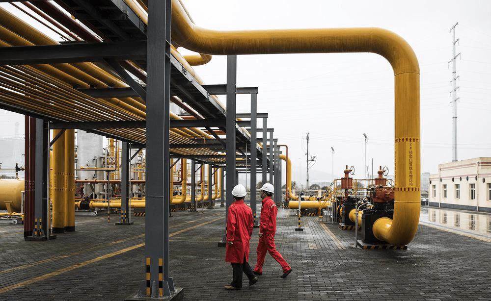 Центральная Азия, как поставщик газа в Китай