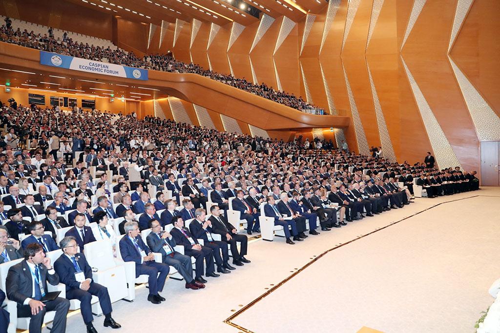 Конференция «Каспийское море: в интересах развития международного экономического сотрудничества»