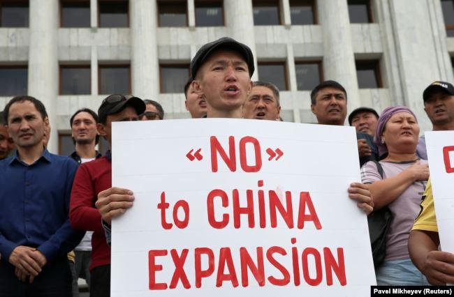 Антикитайские возмущения казахстанцев