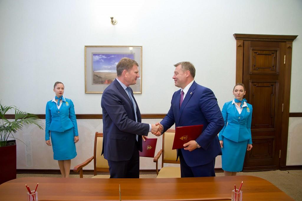 В Астрахани подписано соглашение о намерениях по строительству портовой особой экономической зоны