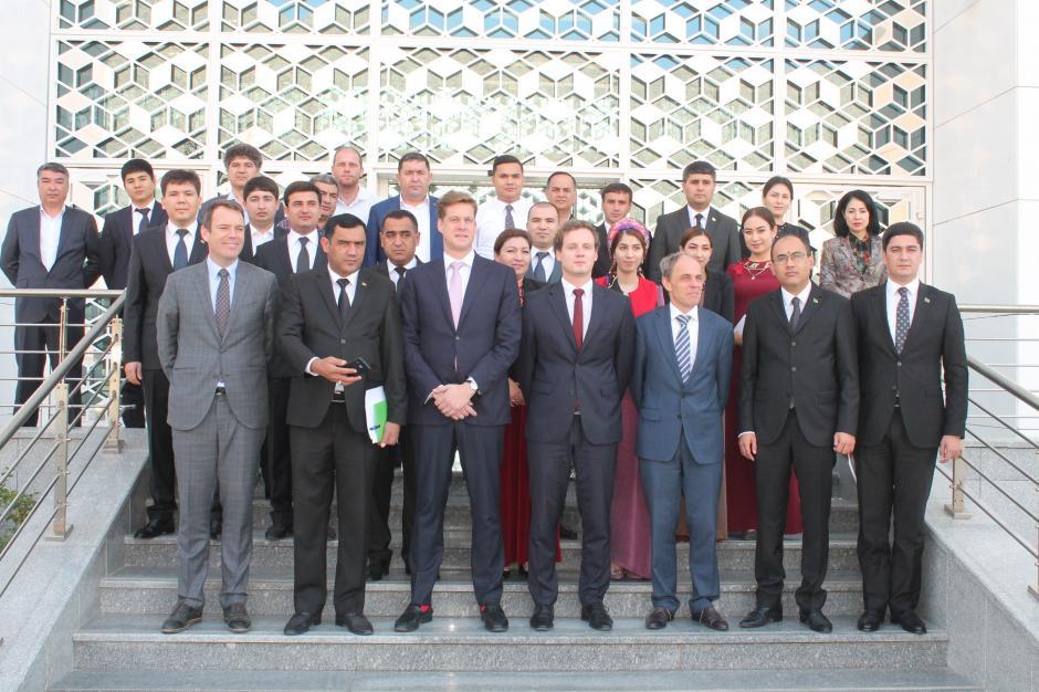 ОБСЕ приступила к реализации проекта «зелёные порты» в Туркменистане