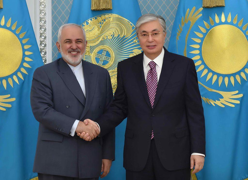 Министр иностранных дел Ирана посетил Республику Казахстан