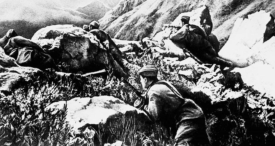 Каспий не принял немецкого адмирала. Судьба Дагестана решалась под Сталинградом