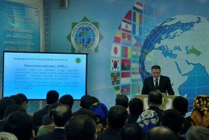 В Туркменистане подготовлен «Атлас разграничений морских пространств»