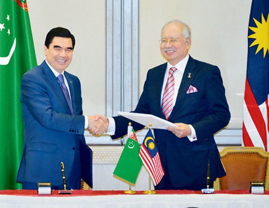 Иностранный интерес к черным жемчужинам туркменского шельфа