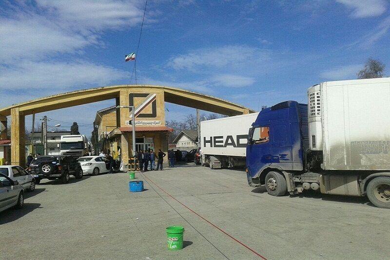 Объем экспорта ненефтяной продукции из иранского города Астара составил 410 млн. долларов