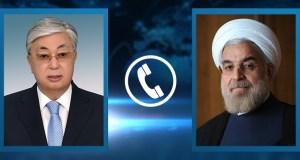 Президенты Республики Казахстан и Исламской Республики Иран провели телефонные переговоры