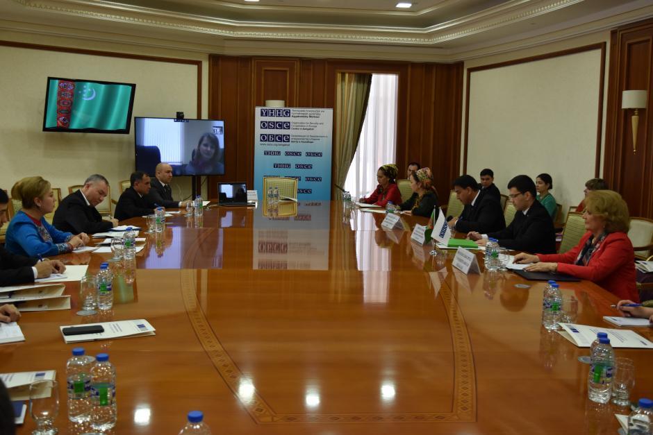 Представители Туркменистана приняли участие в мероприятиях ОБСЕ по борьбе с терроризмом