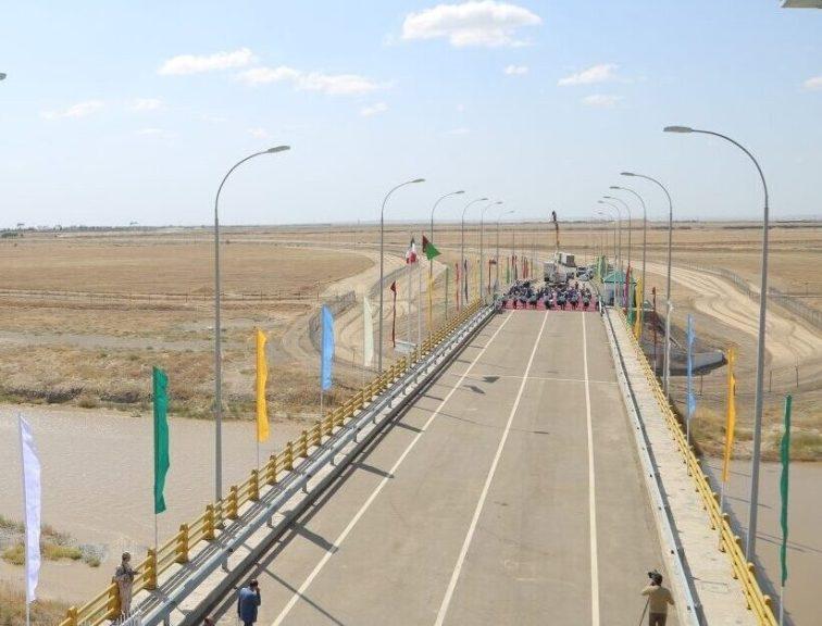 На туркмено-иранской границе открыт автомобильный мост через реку Теджен