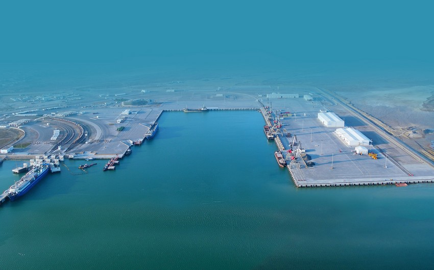 В Азербайджане уделяют пристальное внимание проекту порта Лагань