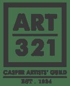 Art 321 Logo Casper Art Walk