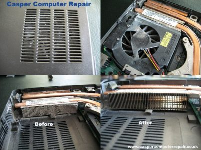 Laptop overheating