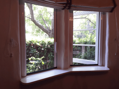 Casper Retractable Window Screens Work on Out-Swing Windows