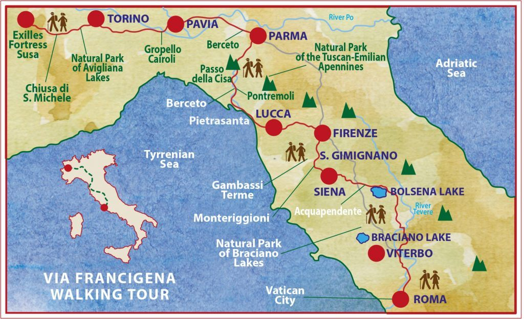 via-francigena-map-way-to-rome-itinerary-caspin-journeys