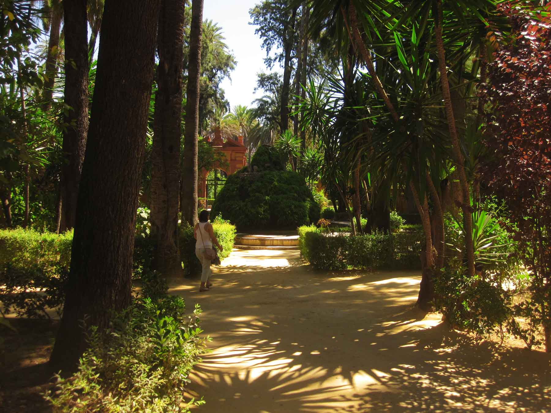 Gardens of Real Alcázar, Sevilla