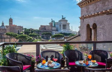 View from your hotel in Rome