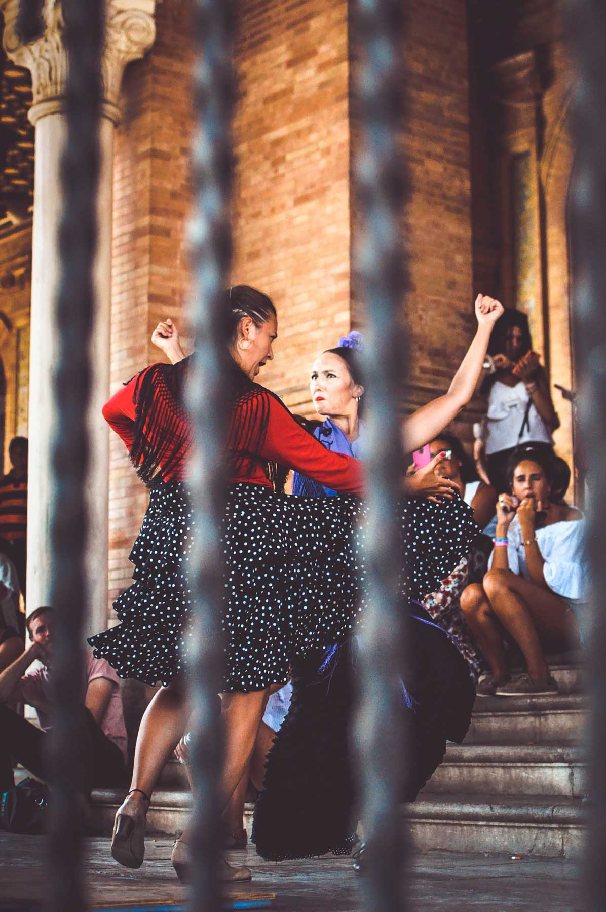 Flamenco in Plaza de España
