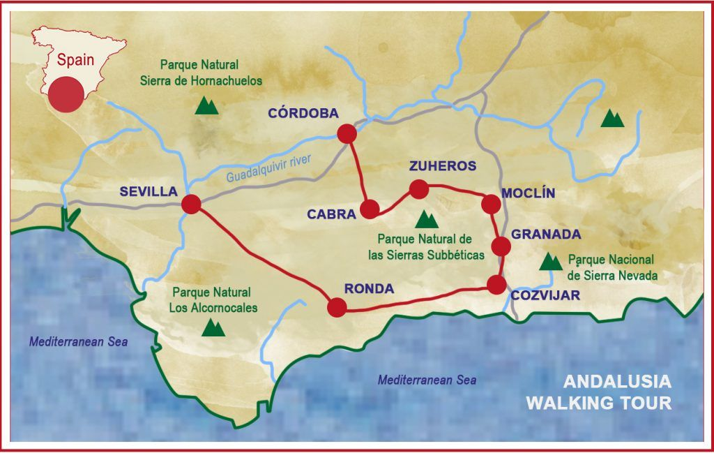 andalusia walking tour map by caspinjourneys