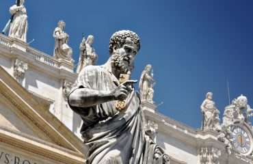 Statue of Saint Peter in the Vatican