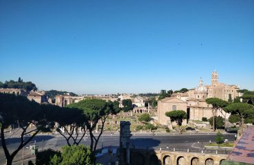 View on the Fori Imperiali