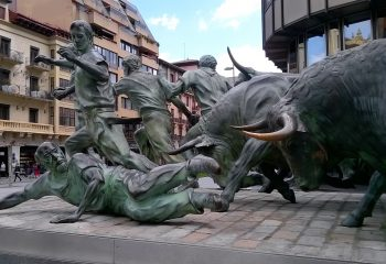 Pamplona-Spain-Running-of-the-bulls-Walking-Tours-Caspin-Journeys