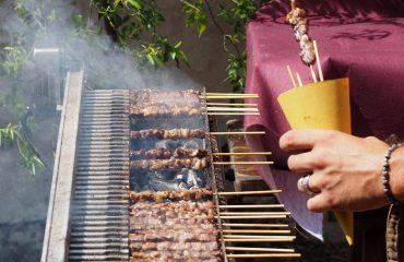 Typical Abruzzese Arrosticini