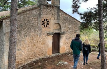 The ancient chapel of Bominaco